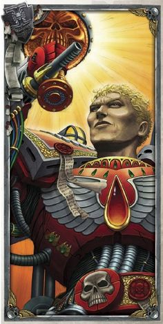 Thought of the Day:For every tear I have shed for my Primarch, his enemies have bled a single drop of blood. Yet still I can weep, and they can bleed…