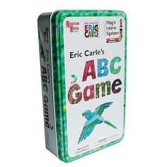 Eric Carle's ABC Game in a Tin  - University Games 1001232 -  Party Games - FAO Schwarz®