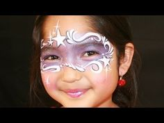 ▶ Purple fairy face painting tutorial - Fairy princess makeup - YouTube