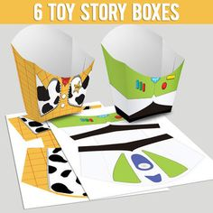 6 Popcorn Box Toy Story (You can purchase)