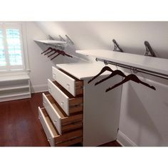 Does your closet have #pesky sloped ceilings that make it hard to store your things?? Fret no more! With the sloped ceiling #AbrechtBracket, finding shelving space is as easy as 1-2-3! The #unique adjustable design, allows you to find #storage on even the most steeply angled ceilings!✨#closetpros #abrechtbracketcompany #exquisitehardware #customclosets #haveityourway #easyas123 #fretnomore #slopedceilings #slopedceilingsolutions #morestorage #adjustablebracket #allenwoodnj #newjersey #shelvin...