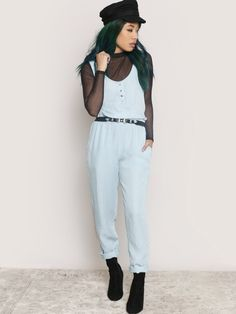 Route 66 Chambray Jumpsuit - Gypsy Warrior