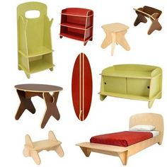 Nice I Really Love The Shape Of This Kids Furniture!