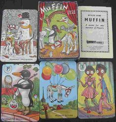 Retro Muffin Card Game