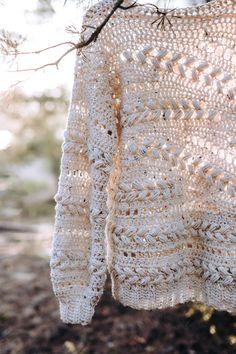 Crochet Cardigan, Knit Crochet, Crochet Sweaters, Crochet Winter, Crotchet, Long Sweaters, Easy Crochet, Crochet Crafts, Crochet Projects