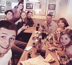 Taron Egerton featuring: his family ❤