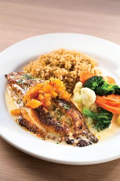 Kd's delicious Catfish Dish! - http://www.sliceok.com/April-2014/Kds-Wes-Welkers-Game-On/