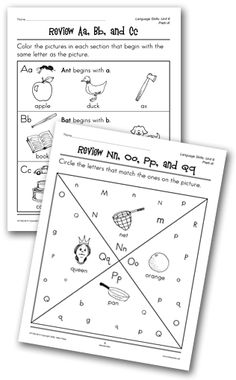 math worksheet : 1000 images about kindergarten worksheets on pinterest  : Language Arts Kindergarten Worksheets