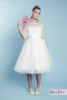 Hopelessly Devoted wedding gown