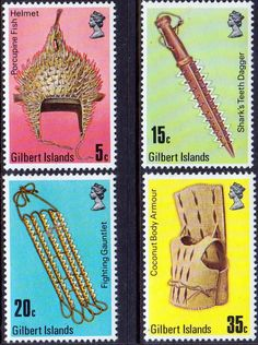 Gilbert Island 1976 Artefacts Set Fine Mint SG 43 6 Scott 289 Other British Commonwealth Empire and Colonial stamps Here