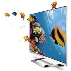 LG Cinema Screen 55LM6700 55-Inch Cinema 3D HDTV with Six Pairs of 3D Glasses - Amazing how thin these have gotten, and how the screen goes right to the edge. #LG #3DTV #bestledtv