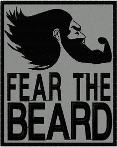 Fear the beard morale patch black on grey Beard Patches, Beard Art, Man Beard, Beard Quotes, Bald With Beard, Beard Humor, Short Beard, Perfect Beard, Beard Grooming