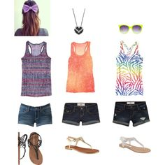 Different Summer Outfits - Polyvore