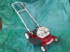 """SNAPPER SELF PROPELLED 21"""" MOWER, 3.5 H.P. BRIGGS & STRATTON motor #Snapper"""
