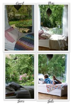 Ein Schweizer Garten: Reise durch die Jahreszeiten - Teil 5 - Das Wohnzimmerfenster