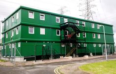 Office complex for a power plant in Newport, GB