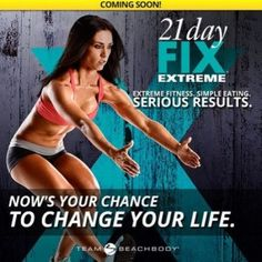 21 day fix extreme - a true body and mind changer. Do you want to get extreme results in just 21 days? Comment below and sign up to know when it becomes available at http://365fitclub.com