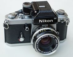Nikon F2 Photomic 35mm SLR Camera & Nikkor H 50mm F2 Lens by clicks_1000 (Away...), via Flickr