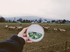 Sew Wanderlust: Designer Embroiders Her Travels On-Site Instead Of Taking Photos