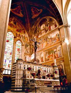 Tornabuoni chapel -- Ghirlandaio