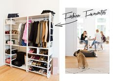 closet dreams lena terlutter my home pinterest kleiderschr nke. Black Bedroom Furniture Sets. Home Design Ideas