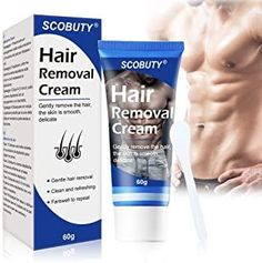 Hair Removal Cream,Tough Hair Cream, Depilatory Cream, Used on Legs & all Body Parts. Skin Friendly, Painless Flawless Hair Remover.