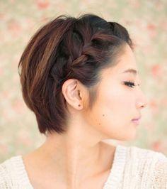 Photo extraite de Carré tressé : les meilleures idées pour faire des tresses sur cheveux courts (10 photos)
