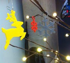 La magia de la Navidad se imprime en 3D en La Caixa
