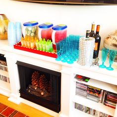No spa is complete without an open bar of spa waters, spa pops, wine, and champagne.