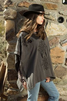 5ec046696aab2 Johnny Was Clothing 4 Love and Liberty Fall 2015 Look Book featuring the  Embroidered Poncho in