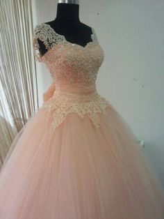 Real Made Beading and Appliques Princess Quinceanera Dresses, Lace-up Tulle Dresses, Quinceanera Dresses, Prom Dresses,The Charming Prom Dress