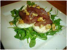 Receita Entrada : Carpaccio de pêras com queijo fresco de Verdinha