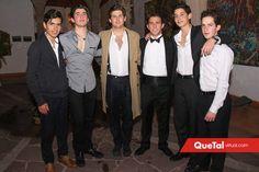 Juan Pablo Quintero, Héctor Mahbub, Marcelo González, Rober, Santiago Rodríguez y Diego Gómez.