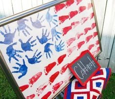 Cool Fourth of July Craft for kids!