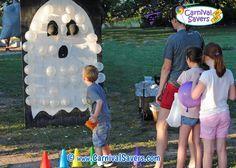 Boo-Loon Pop Halloween Carnival Game - NO DARTS Needed!