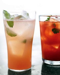 Summer Breeze -  Savor summer with a pleasantly pink cocktail of pineapple and grapefruit juice with gin.