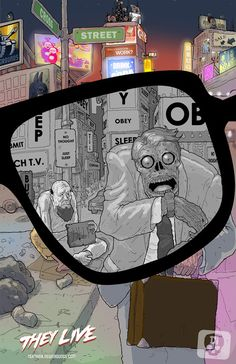 They Live (1988) (John Carpenter) - Artist Unidentified