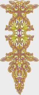Nice Neck Embroidery Designs - Embdesigntube