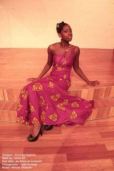 African Print Dress by Dorisdey on Etsy, $150.00