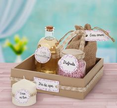 Box Packaging Templates, Spa Basket, Mini Spa, Bridesmaid Gift Boxes, Mom Day, Coffee Gifts, Creative Gifts, Gifts For Mom, Birthday
