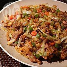 Sauté de porc aux légumes et sauce hoisin @ allrecipes.fr