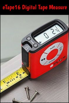 This digital measuring tape will make things a whole lot easier for you.