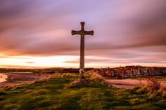 Alnmouth Sunset North East England, My Images, 18th Century, Wind Turbine, Seaside, Landscape Photography, Sunset, Cottages, Beach