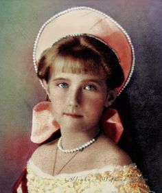 """Grand Duchess Anastasia Nikolaevna of Russia """