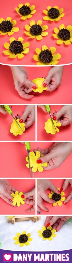 Do It Yourself A Brigadier Daisy Flower Decoration Decorate Table Fes Do It Yourself A Brigadier Dai Sunflower Birthday Parties, Sunflower Party, Happy Birthday Girls, Baby Girl First Birthday, Daisy Decorations, Flower Wall Decor, Happy B Day, Diy Crafts For Kids, Baby Shower