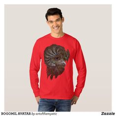 Shop BOGOMIL AVATAR T-Shirt created by artofthemystic. Avatar, My Design, Shop Now, Long Sleeve, Sleeves, Mens Tops, T Shirt, Shopping, Fashion