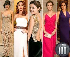 Sophie Charlotte, Adriana Esteves, Camila Pitanga, Gloria Pires e muito luxo! Confira os looks mais bafônicos de Babilônia ♥