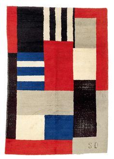 1935 Art déco carpet, France