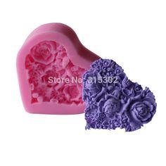 1 PCS moule en Silicone fleur Fondant Cake Pan bonbons savon moule de cuisson Pan Cake Decoration C108 dans de sur AliExpress.com   Alibaba Group