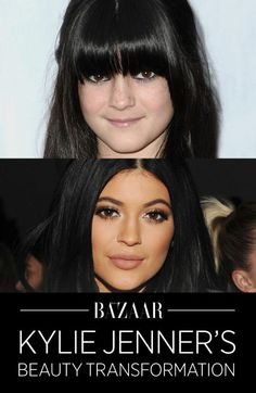From blunt bangs to bold lips, see how Kylie Jenner's style has evolved throughout the years: